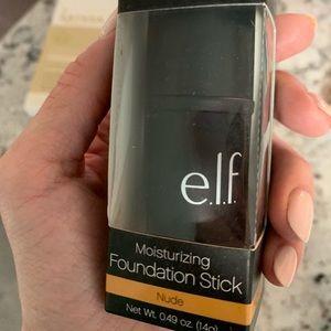 Elf moisturizing foundation stick- Nude